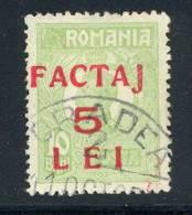 1928, Feimarke MiNr. 266 Gest.mit Dreizeiligem, Rotem Aufdruck FACTAJ/5/LEI - Gebraucht