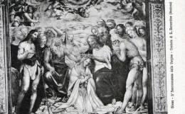 """Cartolina  D´epoca  """"  SIENA -  L' Incoronazione Della Vergine - Oratorio Di S.Bernardino   (Sodoma)"""" - Siena"""