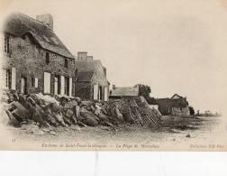 MORSALINES Environs De SAINT VAAST LA HOUGUE (50) Plage Habitations - France