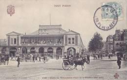 PARIS - Gare De Vincennes - Place De La Bastille (XIIe Arr.) Attelages - Metro, Estaciones