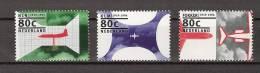 Nederland Netherlands Niederlande, Holanda, Pays Bas 1605-1607 MNH ; Flugzeuge, Avion, Avion, Aeroplanes - Vliegtuigen