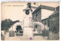 56   GUIDEL  MONUMENT  AUX  MORTS  +  CANON   1X644 - Guidel