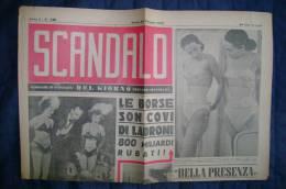 PBI/57 Giornale SCANDALO 25/12/1947 Cronache Di Attualità : Dollmann (eroe Fosse Ardeatine)-le Borse - Bücher, Zeitschriften, Comics