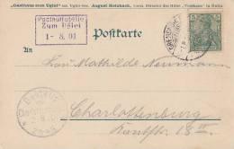 DR AK Ugleisee EF Minr.55 Gremsmühle 1.8.01 Posthilfstelle Zum Uglei 1.8.01 Ansehen !!!!!!! - Deutschland