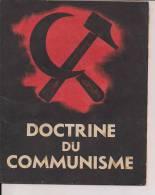 Doctrine Du Communisme Collaboration Vichy WWII 2wk 39-45 Propagande Allemagne 1939-1945 Reic - 1939-45