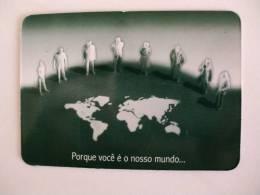 Bank/Banque/Banco Espirito Santo Portuguese Pocket Calendar 2001 - Calendarios