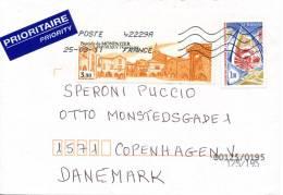 France Cover Sent To Denmark 25-3-2011 - Frankrijk