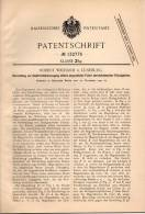 Original Patentschrift - R. Wichand In Lüneburg , 1900 , Elektricitätserzeugung , Elektricität !!! - Historical Documents