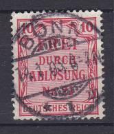 """## Germany 1903-05 Mi. 4     10 Pf Zahldienstmarke Für Preussen """"Frei Durch Ablösung Nr. 21"""" Deluxe BONN 1903 Cancel !! - Officials"""