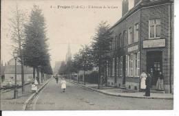 FRUGES - L'avenue De La Gare - Fruges