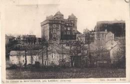 -Montrozier Près Laissac - Le Château - Timbrée TB - Other Municipalities
