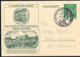 1959   100 Jahre  Oberpostdirektion Berlin  MiNr P22 FDC   Sonderstempel - Postales - Usados