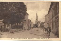DEPT 33 -  SAINT YZANS MEDOC  -  L´église Et Le Bourg - France