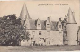 CPA 56 QUISTINIC Château De La Jaquelot 1921 - Non Classés