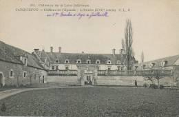 Carquefou 89  Chateau De L' Epinais  CLC  Au Vicomte Boucher D' Argis De Guillerville - Carquefou