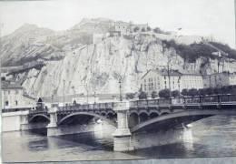PHOTO Originale SASSENAGE Pont Neuf 1899 - Lieux