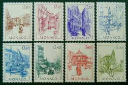 MONACO D´AUTREFOIS 1984 - NEUFS ** - YT 1404/11 - MI 1634/41 - Monaco