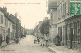 78 BONNIERES SUR SEINE VUE SUR LA GRANDE RUE - Bonnieres Sur Seine