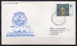 Royaume Uni - Lettre - R.R.S. Discovery - 1977 - Territoire Antarctique Britannique  (BAT)