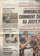 Johnny Hallyday - France Soir Ouest Avril 1990 - Kranten