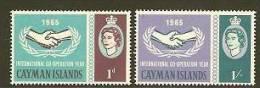 CAYMAN ISL 1965 MNH Stamp(s) Int. Co-op. 175-176 #5934 - Organizations