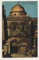 Church Of The Holy Sepulchre, Jerusalem, Palestine - Palestine