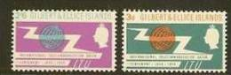 GILBERT & ELLICE 1965 MNH Stamp(s) I.T.U. 82-83 #5922 - Organizations