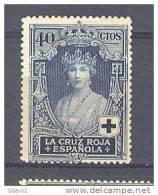 ES333-A620TSC.España.Spain.Espagne.Reina Victoria Eugenia.CRUZ  ROJA1926 (Ed 333*) Con Leve Charnela MAGNIFICO - Sin Clasificación