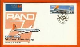 RSA 22-8-77 Airway Cover 26 Windhoek - JHB - Airplanes