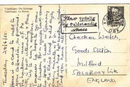 P/HISTORY - 1955 DANISH SLOGAN CANCELLATION - Sonstige