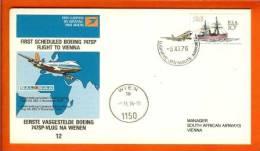RSA 5-11-76 Airway Cover 12 JHB - Vienna - Airplanes