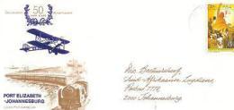 RSA 1973 FDC Nr.29.2 PE-JHB Flight With Address #1669 - South Africa (1961-...)