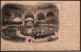 FRANCE PARIS 1900 - EXPOSITION UNIVERSELLE DE 1900 - LA SALLE DES FETES - OLYMPIC GAMES PARIS 1900 - MAILED CARD - Summer 1900: Paris