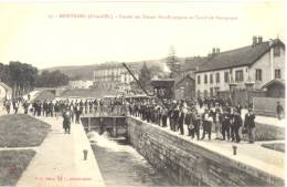 21 - Montbard - Entrée Des Usines Mettalurgiques Et Canal De Bourgogne - édit; H.G. Daloz N° 27 - - Montbard