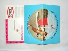 Publicité Pour Texaco. Publiciteit Voor 4 Bekers. 4 Gobelets. Texaco. - Advertising