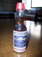 Amaro Gambarotta - Liquore: Bottiglia Mignon Tappo Plastica GBG Gambarotta Inga & C. Spa Serravalle Scrivia Alessandria - Spirits