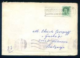 114412 / Envelope 1985 ZWOLLE , POSTCODE Netherlands Nederland Pays-Bas Paesi Bassi Niederlande - Period 1980-... (Beatrix)