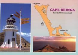 (886) Lighthouse - Phare - Cape Reinga - Lighthouses