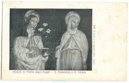 Assisi S. Maria Degli Angeli, S. Elisabetta E S. Chiara, Early 1900s Unused Postcard [11418] - Perugia