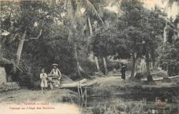 COCHINCHINE TONKIN HANOI  PAYSAGE AU VILLAGE DES COCHONS - Vietnam
