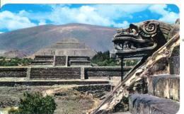 MEXICO - San Juan Teotihuacan - Temple Of Quetzalcoati - Mexique