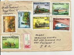 =UNGARY1982 BRIFE  13ps 1979 Serien Zuge.mozaik.sport - Briefe U. Dokumente