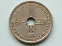 1949 - 1 KRONE / KM 385 ( For Grade, Please See Photo ) ! - Norvège