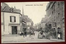 Cpa Du 22  Guingamp Rue Notre Dame   PONT11 - Guingamp