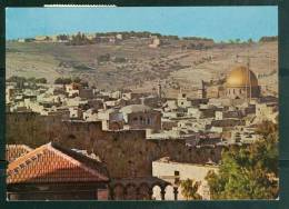 Cpsm Gf -  Jerusalem - View Of The Old City     - Ay7551 - Palestine