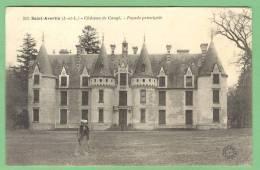 37 SAINT-AVERTIN - Chateau De Cangé - Façade Principale - Saint-Avertin