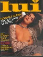 Erotisme - LUI N°254 - Manara Florence Guérin Le Déclic Charlélie Couture Marseille Pub Kiraz Flaubert Siné - Livres, BD, Revues