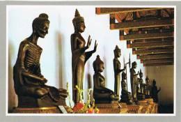 0743. Postal BANGKOK (Tahilandia) . Imagenes De BUDA. Buddha - Tailandia