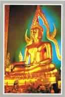 12908. Postal BANGKOK (Tahilandia) . BUDA En El Templo De Marmol. Buddha - Tailandia