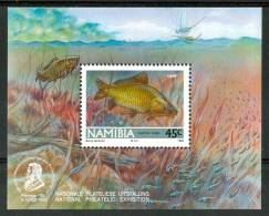 1992 Namibia Vita Marina Marine Life Pesci Fish Fische Poissons Block  MNH** Po133 - Namibia (1990- ...)